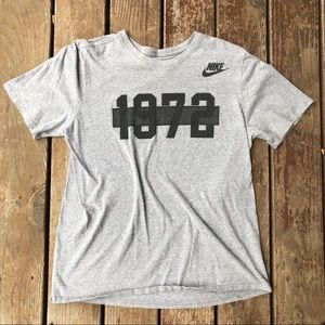 "Nike ""1972"" Gray T-shirt Sz L"